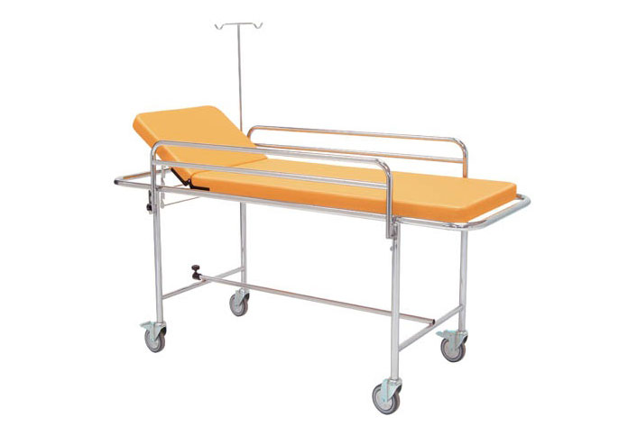 Krankentrage fahrbar, Seitengitter