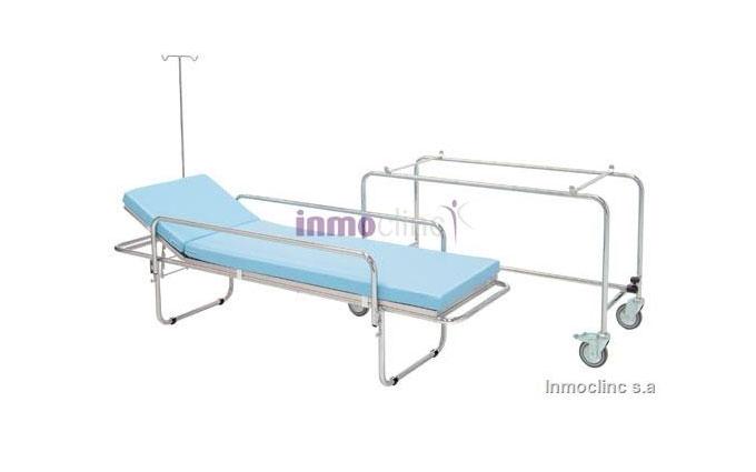 Krankentrage fahrbar, trennbar, Seitengitter