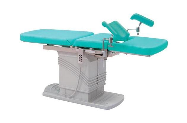 Gynäkologie Tisch / Stuhl inkl. Oberschenkelstützen