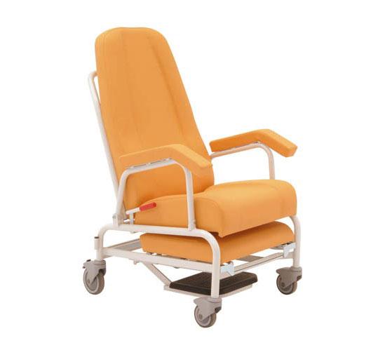 Patientenstuhl für Krankenhäuser und Kliniken, fahrbar