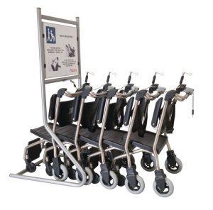 Quattro SW - Mobilisationsstuhl u. Patiententransportstuhl