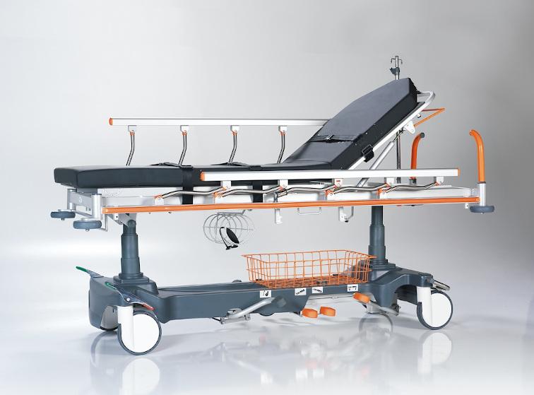 "Notfall- und Patiententransporter ""SL-Stretch-01"" (2-geteilt, röntgenfähig)"
