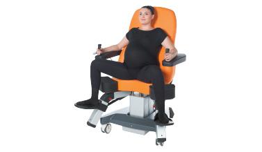 Vertical Birth Chair